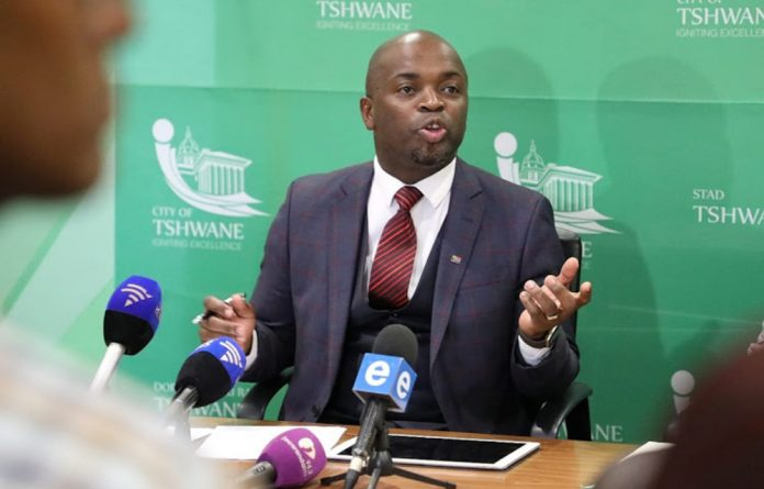 The Tshwane mayor will know on Thursday whether he will remain at the city's helm.