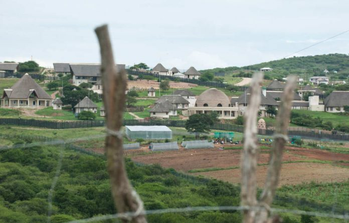 President Jacob Zuma's Nkandla home.