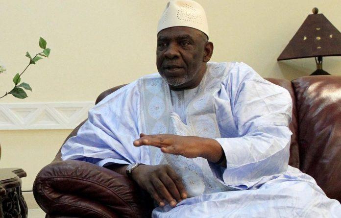 Mali's President Cheick Modibo Diarra.