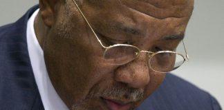 Former Liberian president Charles Taylor.