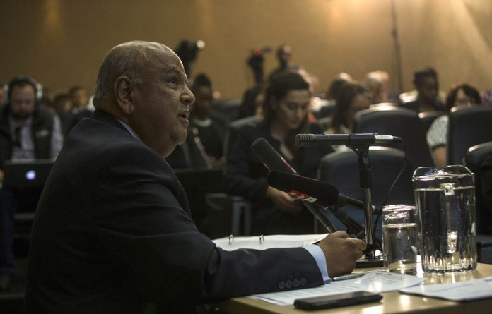 Current Public Enterprises Minister and former Sars commisioner Pravin Gordhan painted a picture of a robust and well-functioning revenue service during his tenure.