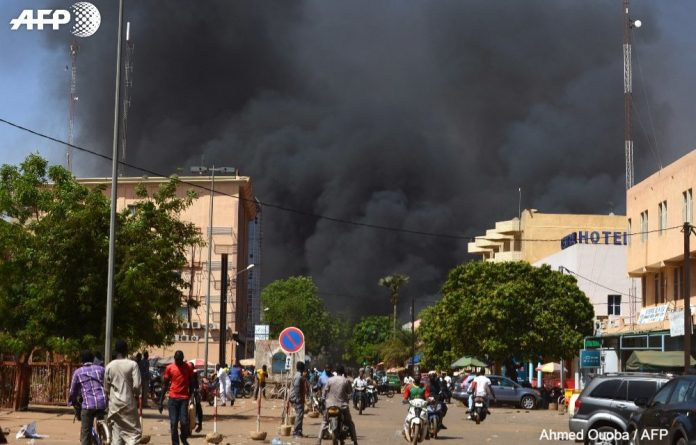 Burkina Faso capital Ougadougou comes under multiple attacks targeting French embassy