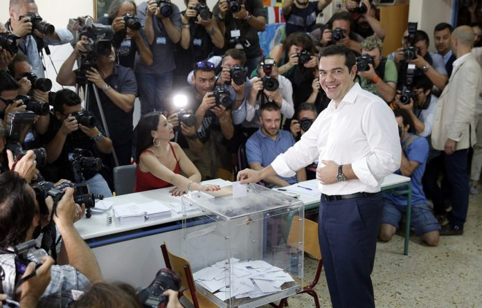 Alexis Tsipras storms to victory in Sunday's elections.