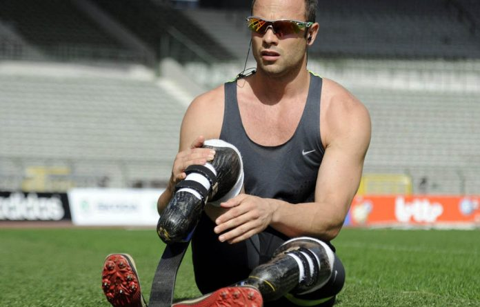 Oscar Pistorius is gearing up for the Paralympics.