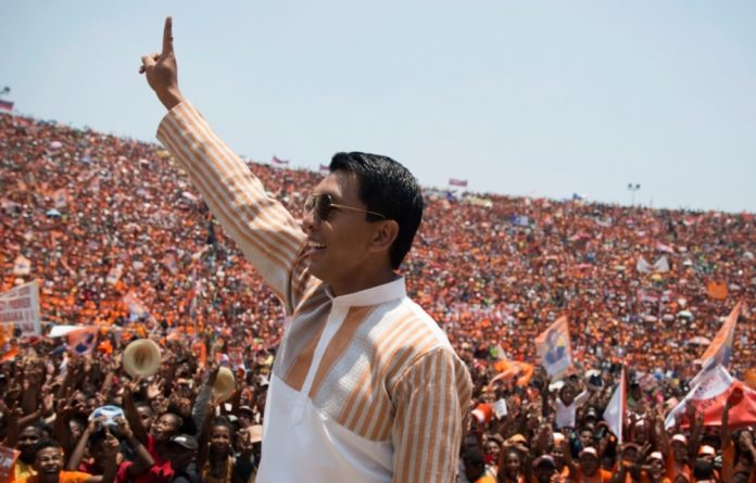 Rajoelina has called for unity and a