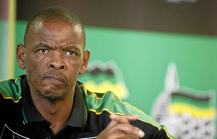 Back to the drawing board: Free State premier Ace Magashule.