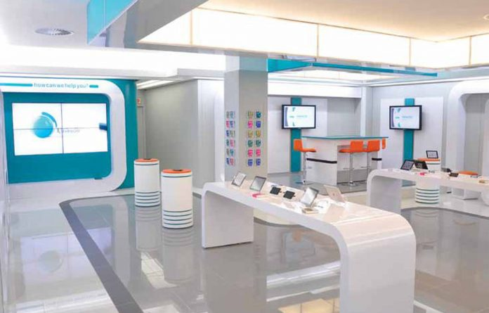 FNB's new dotFNB branch looks decidedly unbank-like.