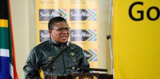 Sports Minister Fikile Mbalula.