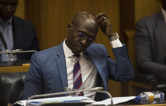 Former Home Affairs Minister Malusi Gigaba.