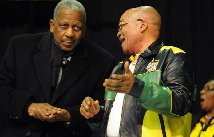 Mathews Phosa and President Jacob Zuma.