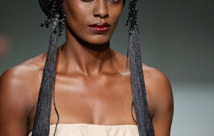 Crafting fashion:  Garment adornment and accessories are produced in workshops at Black Coffee's studio in Johannesburg.