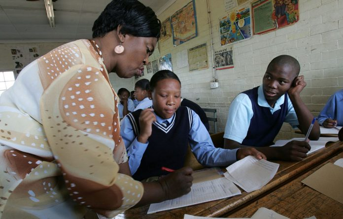 Teacher training provided by provinces is inadequate.