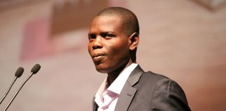 ANC Youth League president Ronald Lamola.