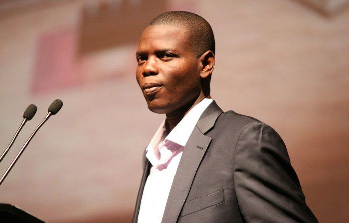 ANC Youth League president Ronald Lamola.