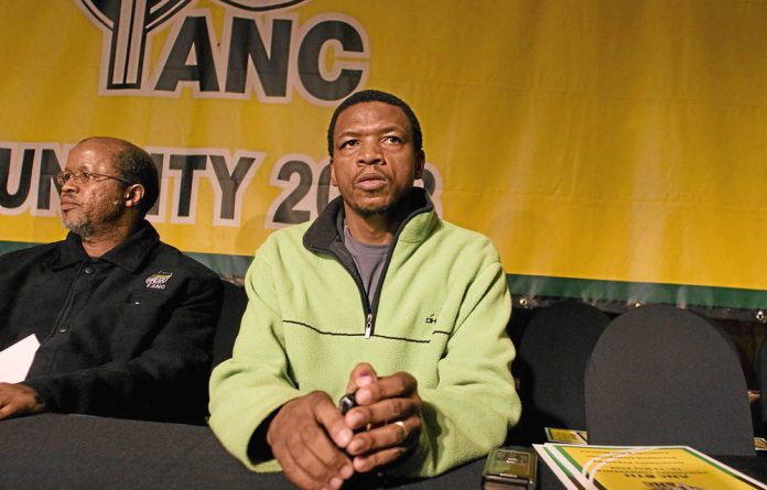 North West ANC chairperson Supra Mahumapelo.