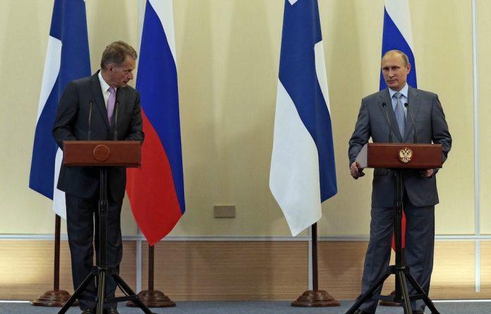 Thaw point: Finnish President Sauli Niinisto