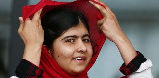 "Malala:""I am extremely delighted. My dream has come true. Peace has returned to Swat because of the invaluable sacrifices rendered by my brothers and sisters""."