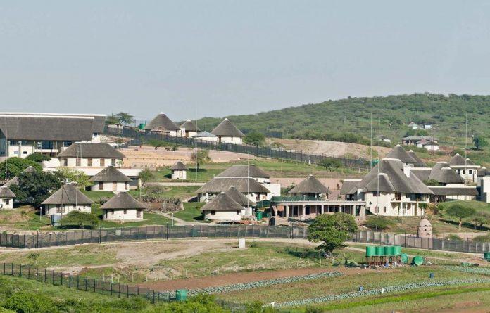 President Jacob Zuma's Nkandla compound.