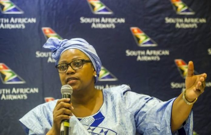 Former SAA chairperson Dudu Myeni allegedly put pressure on two senior staff members and 'orchestrated' a R15-billion deal