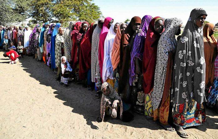 Nigeria Boko Haram refugees