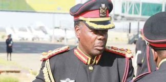 At one point Peter Magosi was a member of Special Forces