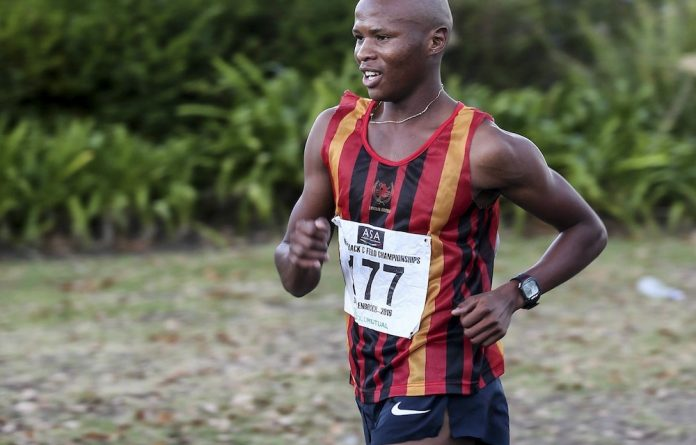 Racing to Rio: Lebogang Shange will be one of four SA race walkers at the Olympics.