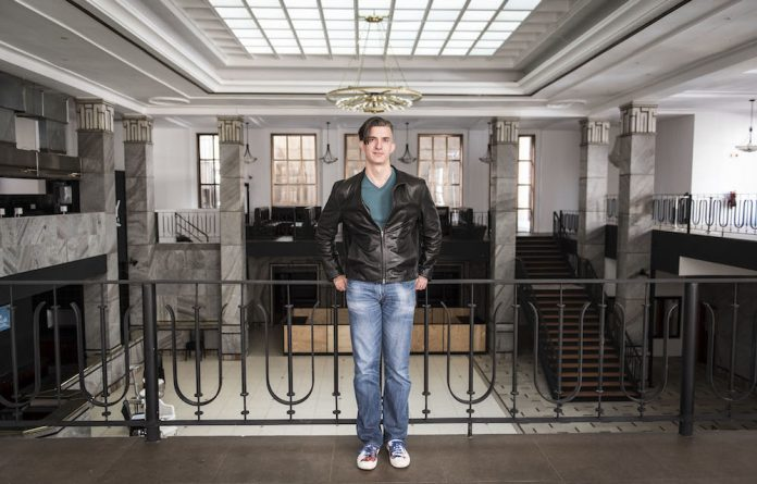 Griffin Shea in the City Central building that will house Bridge Books.