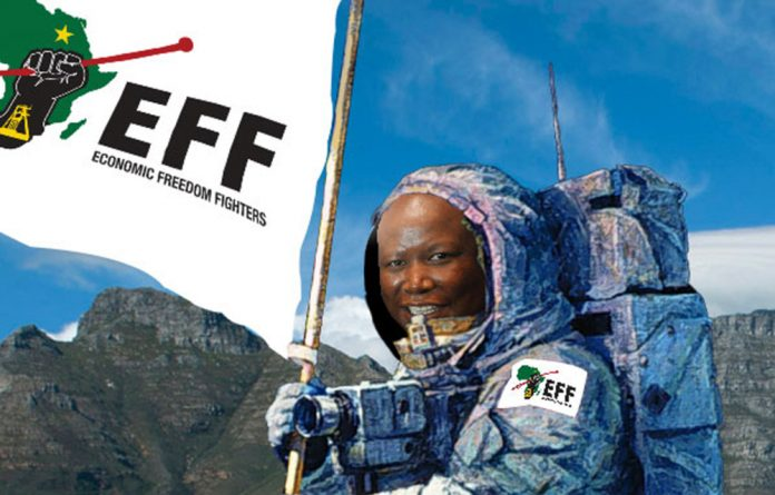 Julius Malema returns from his honeymoon to occupy Table Mountain.