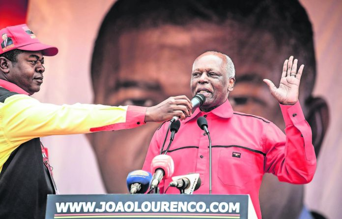 Angola's former president Jose Eduardo dos Santos did not seek re-election in the August 2017 polls and handed the reins of power to his defence minister Lourenco.