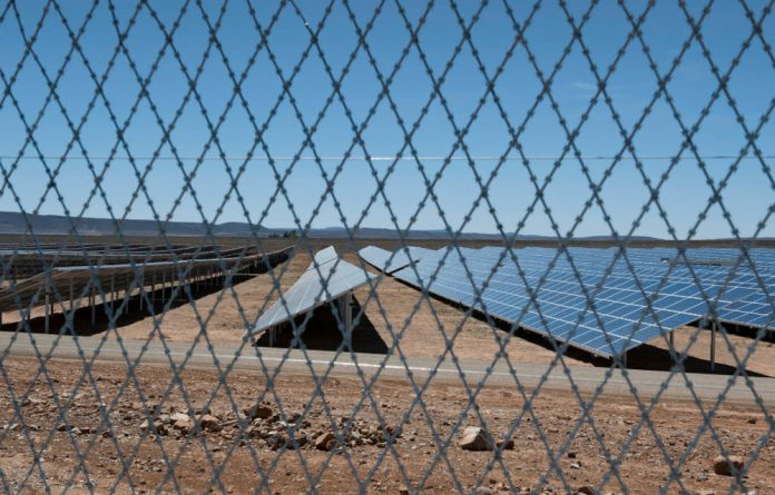 The largest solar farm in the country