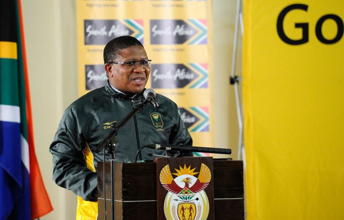 Sports Minister Fikile Mbalula says the country is behind the SA Olympic team ahead of the official start of the 2012 London Olympic Games on Friday.