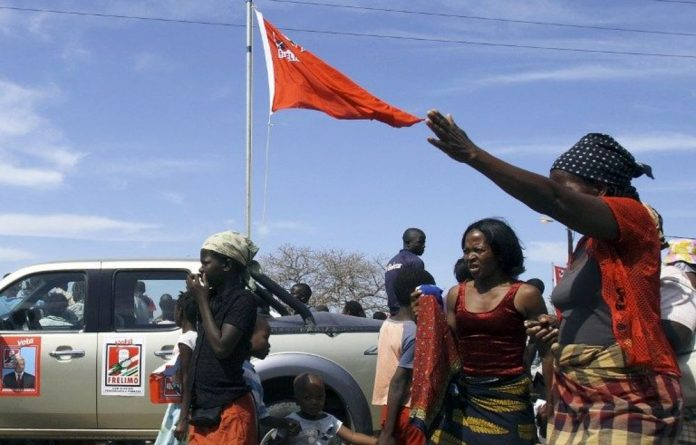 Mozambicans will cast their ballots in local elections.