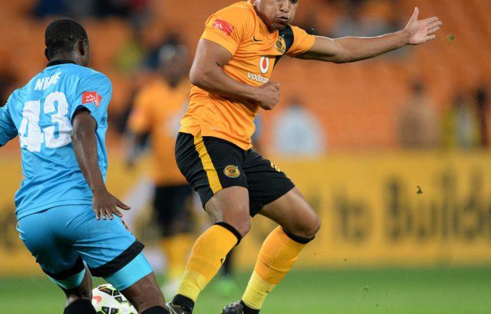 Matthew Rusike of Chiefs during the Absa Premiership match between Kaizer Chiefs and Polokwane City.
