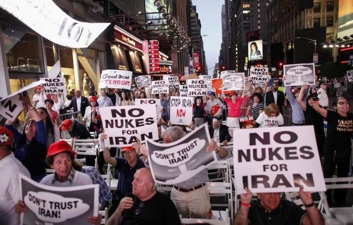 Meltdown: President Obama's announcement of a nuclear deal with Iran has been met with outrage from some quarters in the US.