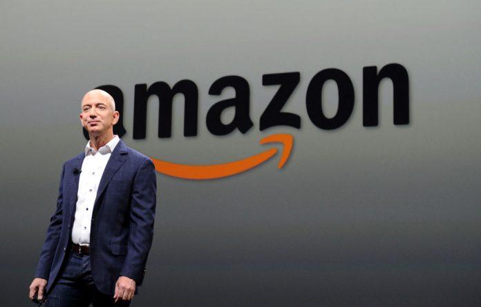 Amazon's founder Jeff Bezos.