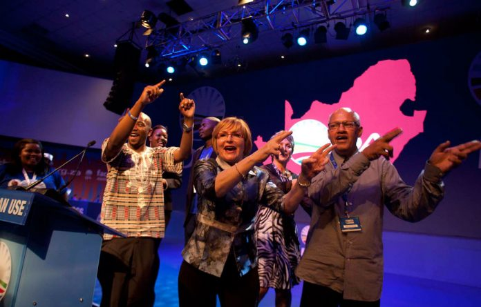 Helen Zille was last weekend re-elected as leader at the party's national congress in Boksburg.