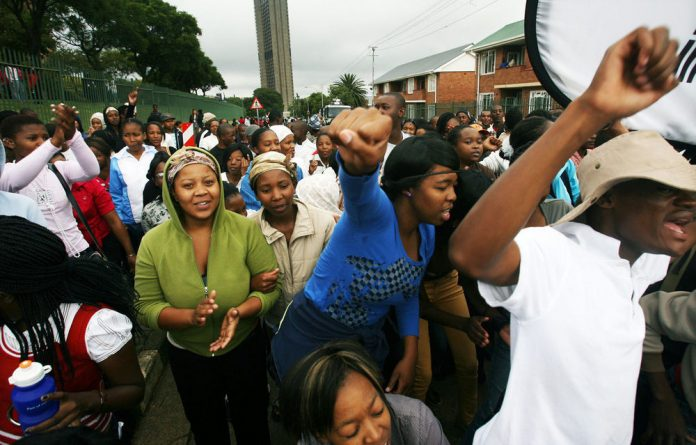 Students in a number of FETs are currently waging strikes over NSFAS funds.