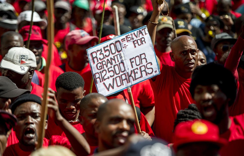 The proposed national minimum wage is R20 an hour for the average worker