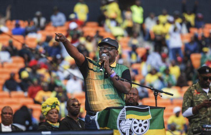 ANC Gauteng chairperson David Makhura.