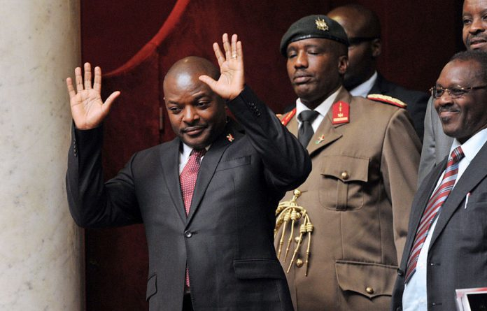 Nkurunziza won 69.41% in a vote the UN observer mission said was not 'inclusive free and credible'.