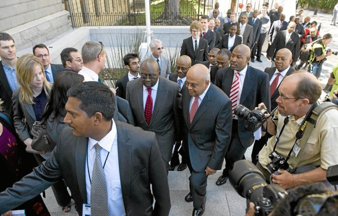 Finance Minister Pravin Gordhan in June urged the United States to take caution