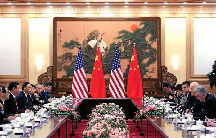 China's President Xi Jinping and US Vice-President Joe Biden were supposed to bolster relations but spent time discussing the Chinese air zone that has ramped up regional tensions.