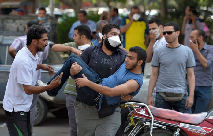 Nationwide violence erupted after security forces broke up Cairo protest camps set up by supporters of deposed president Mohamed Morsi.