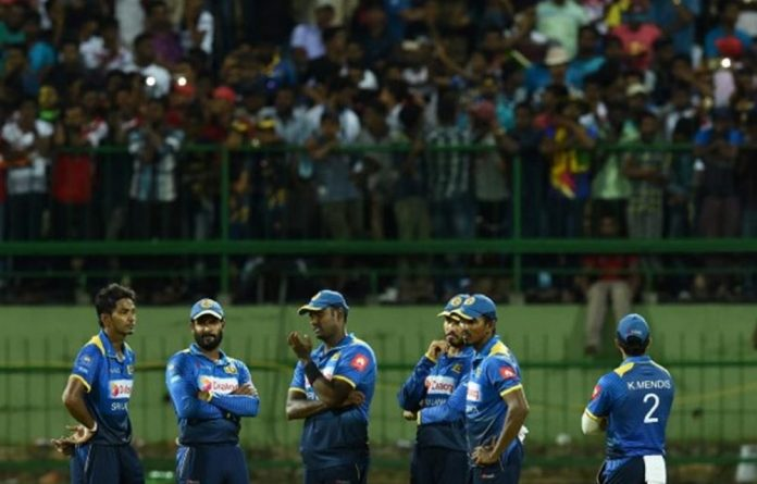 Sri Lankan sports ministry sources say the minister was incensed that the players had been cleared to leave before he had given formal approval to the team selection.
