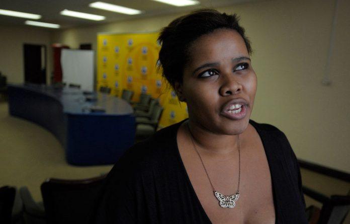 DA's Parliamentary leader Lindiwe Mazibuko