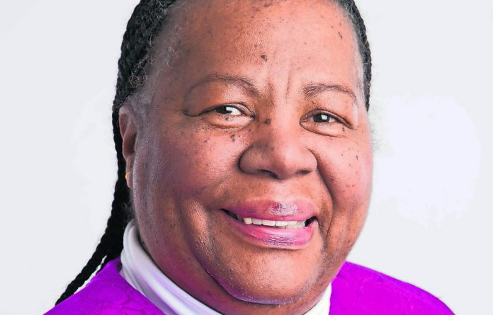 Minister of Science and Techonology Naladi Pandor.