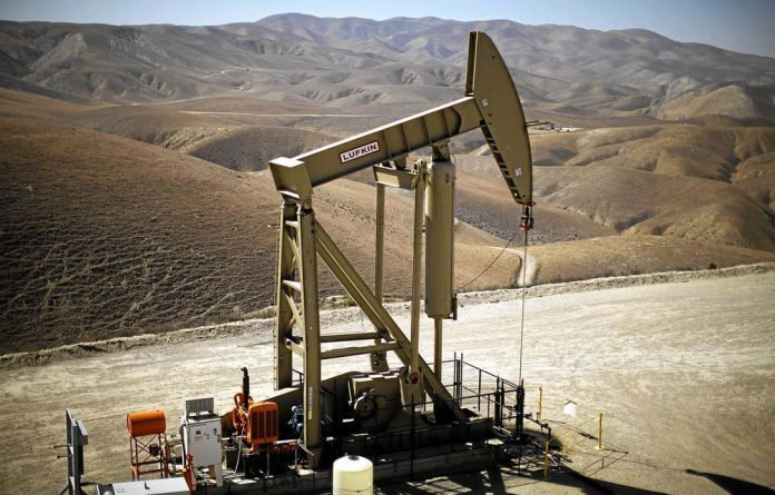 A pumpjack brings oil to the surface from California's Monterey shale formation.