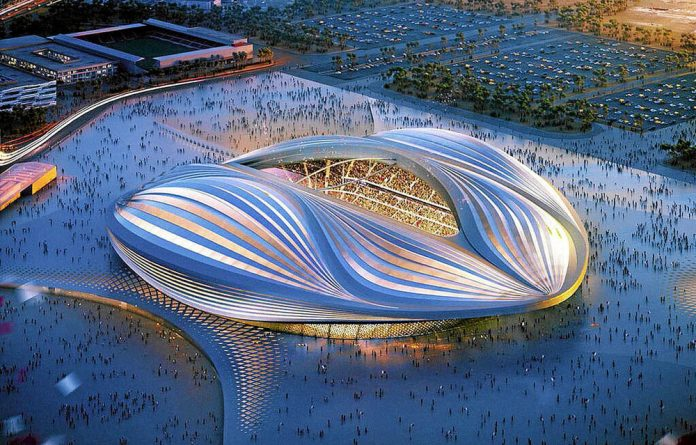 Qatar's new stadium awaits the many football fans who will attend the 2022 World Cup there.