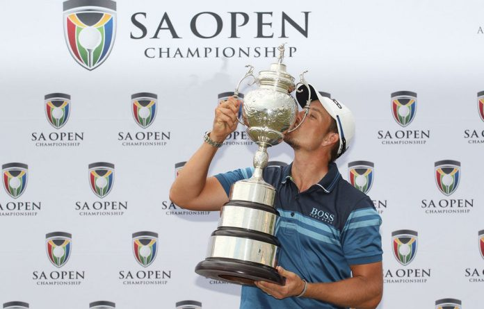 Henrik Stenson shot a final round 71 to win the SA Open Championship at Serengeti Golf and Wildlife Estate.