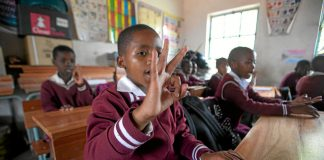 Pupils need proper resources for a good education.